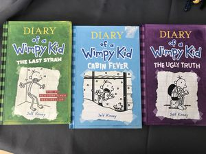 Diary of a wimpy kid 3 books