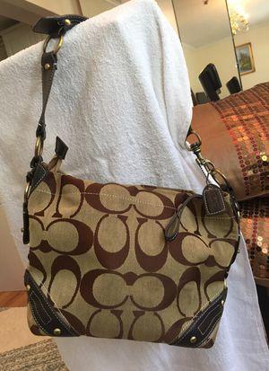 Coach purse shoulder bag