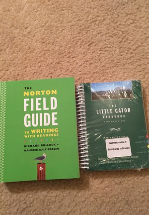 Norton Field guide w/with excercise handbook