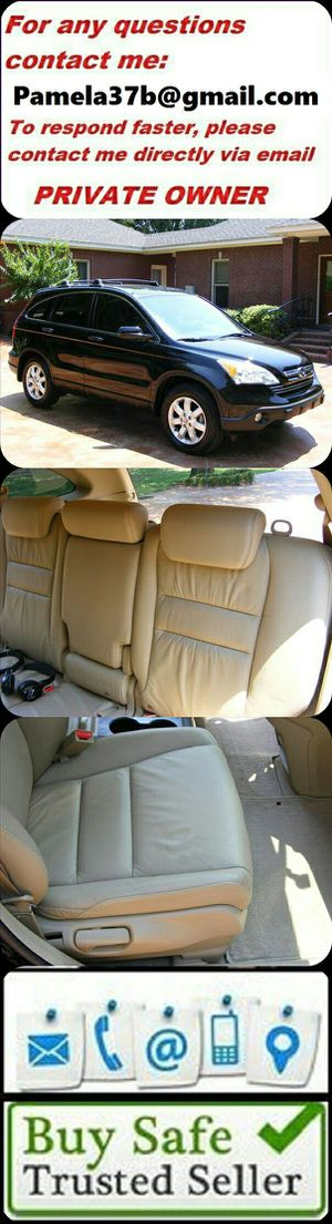 Memory Seat Position2OO7 Honda CRV EX-L Great Family -Luxury -Entertainment System!!