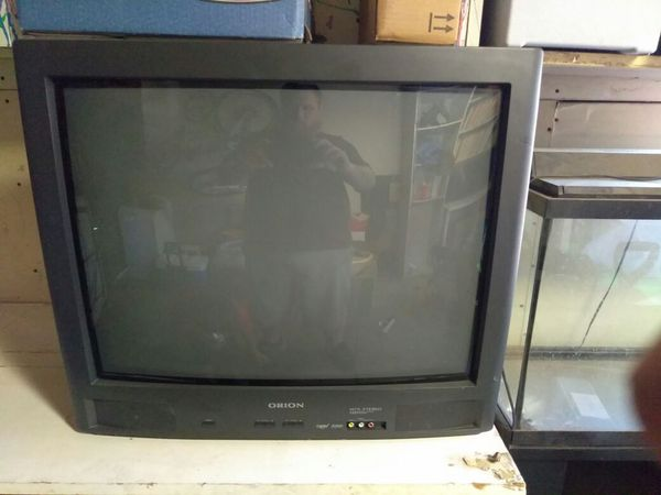 tv 25 inch. 25 inch old school orion tv. tv 2