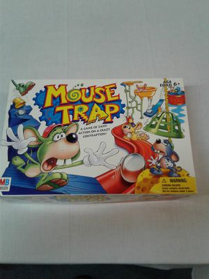 Mouse Trap board game, fun for everyone!