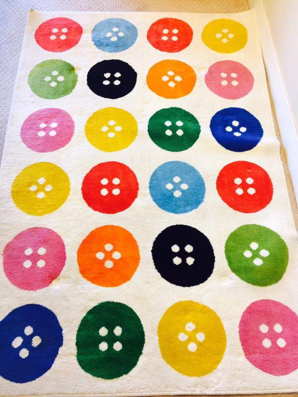Ikea button rug furniture in san mateo ca offerup - Ikea tappeto bottoni ...