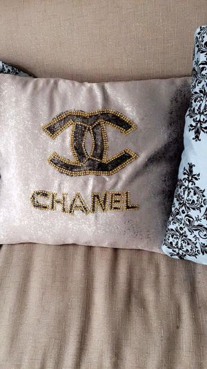 Handmade Chanel pillow case