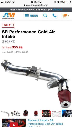 SR Performance Cold Air Intake