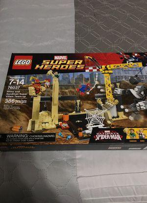 Lego 76037 super heroes rhino and sandman super villain team up