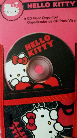 Hello Kitty CD organizer
