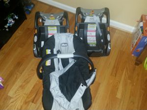 Chicco baby car seat and bases