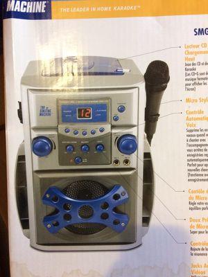 The singing karaoke machine for kids portable