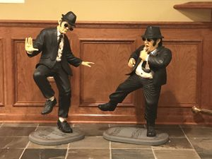 Blues Brothers Statues (3 Ft Tall)
