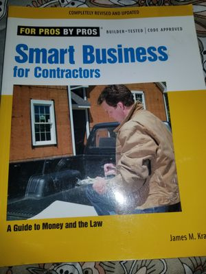 Smart Business for Contractors Book
