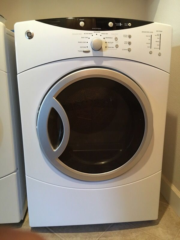 ge front load dryer white wcvh6260fww appliances in los gatos ca offerup. Black Bedroom Furniture Sets. Home Design Ideas