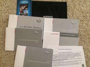2016 Nissan Altima Manual Set