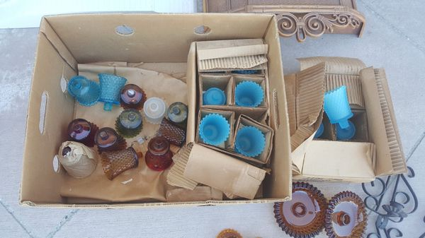 vintage home interior candle holders assortment antiques in