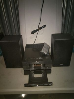 Small Sony audio system