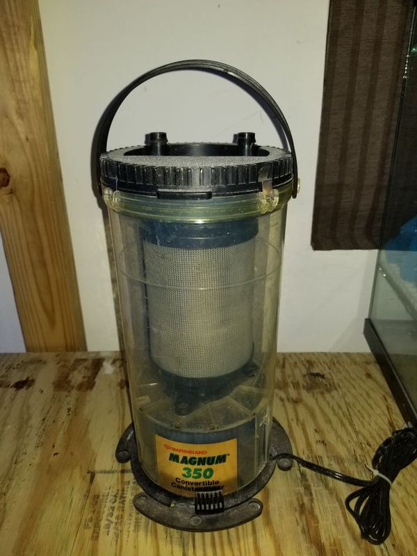 Marineland Magnum 350 Convertible Canister Filter Pet Supplies in