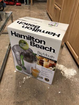 New Hamilton Beach Juicer for sale