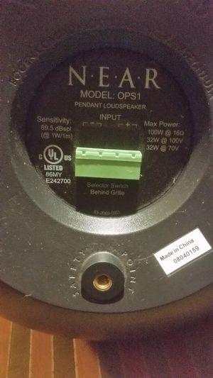 Bogen orbit pendant speaker
