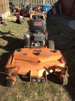 Scag 48'' Hydro Walk Behind mower