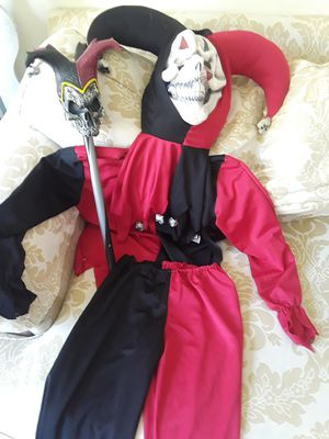 Evil Jester Halloween costume