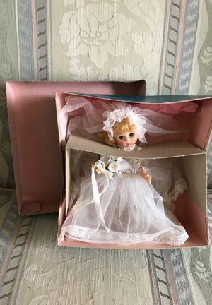 "Madame Alexander 8"" Doll ""Bride"" 435 Blonde Hair Blue Eyes Original Box"