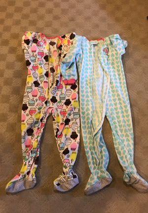 5T girls sleeper PJs