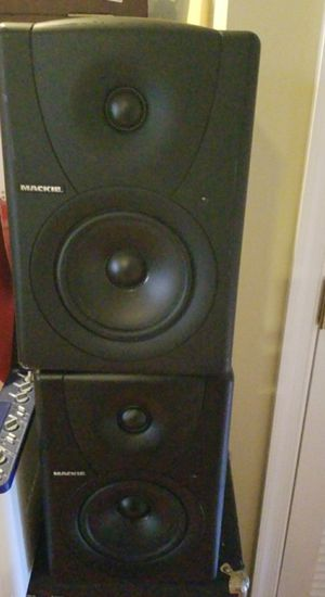 Mackie mk5 speakers studio quality