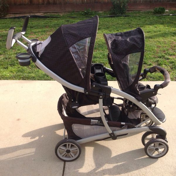 Graco duo deluxe double stroller - used ( Clothing & Shoes ) in ...