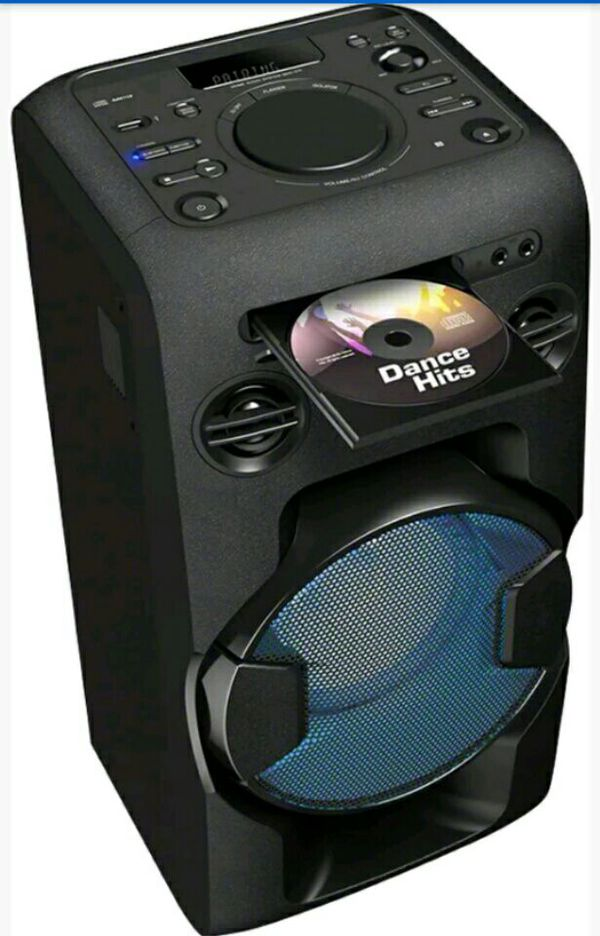 Offer Up Dallas Tx >> SONY MHCV11C High Power Home Audio System 2 Way Bluetooth Speaker with Karaoke option - Black ...