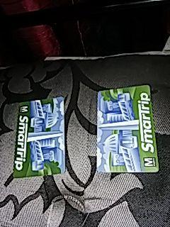 Smart trip bus cards