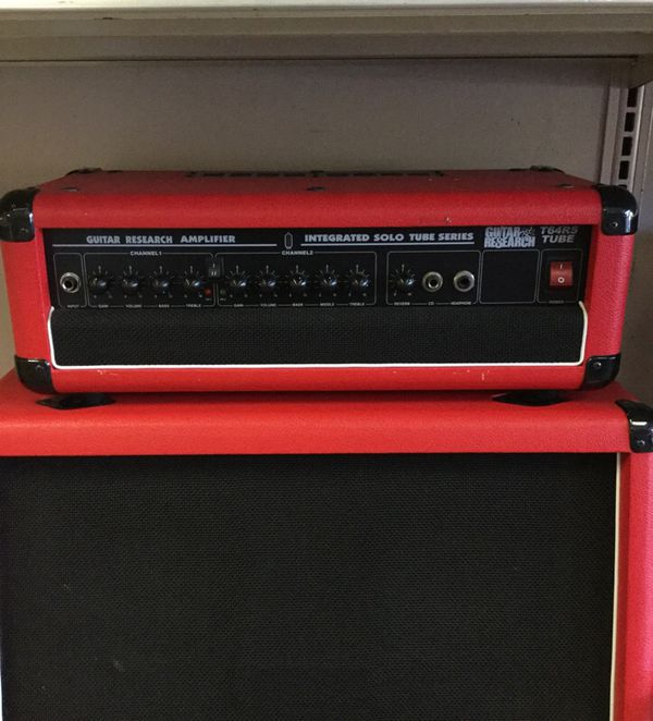 Guitar Research T64RS Amplifier and Speaker Set