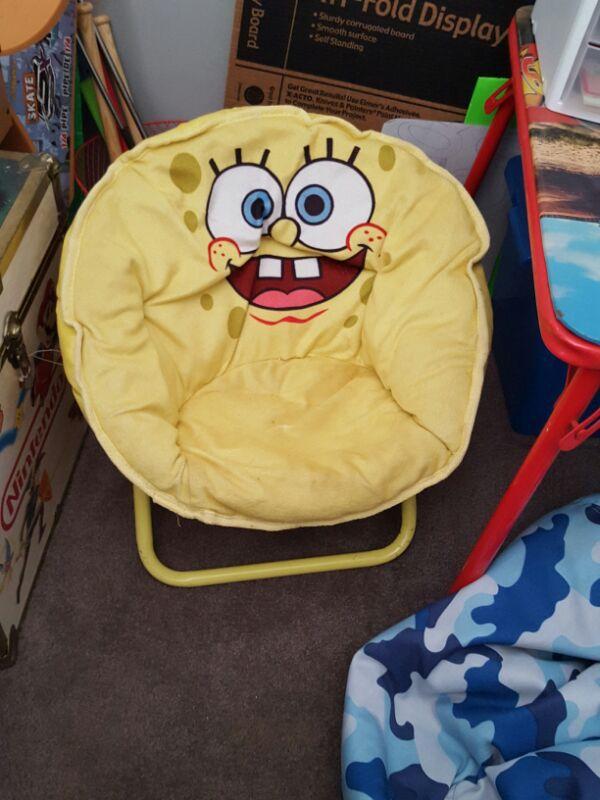 Childs Spongebob Papasan Chair