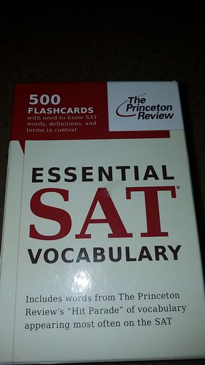 The Princeton Review: Essential SAT Vocabulary
