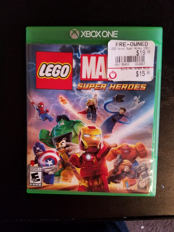 Xbox one marvel super heroes Lego game (Video Games) in Independence ...