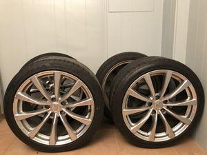 "OEM 19"" Infiniti Rims & Tires"