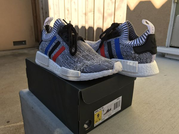 7bcd716053424 US 8.5 Adidas NMD R1 Bedwin Black Night Grey Men s Shoes