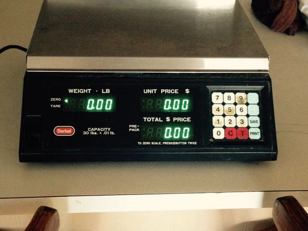Professional berkel food scale appliances in renton wa for Professional food scale