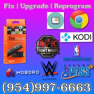 We Repair & Upgrade ALL Fire sticks | Android boxes| Fire TV Instantly NEW method ( Stay home we made it convenient for you)