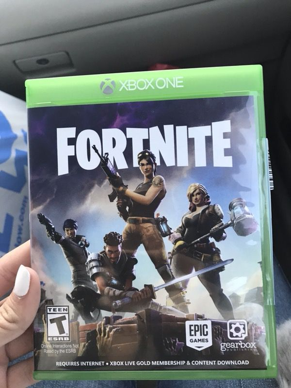 Zombie Car Games >> Fortnite xbox 1 game (Games & Toys) in Riverside, CA