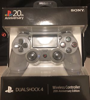 PS4 controller 20th Anniversary Edition!