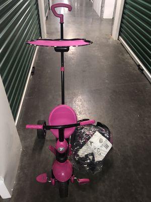 Pink Toddler Girl Push Bike