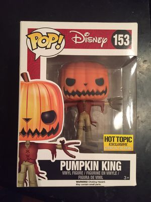 Disney Pop Funco Pumpkin King Figure