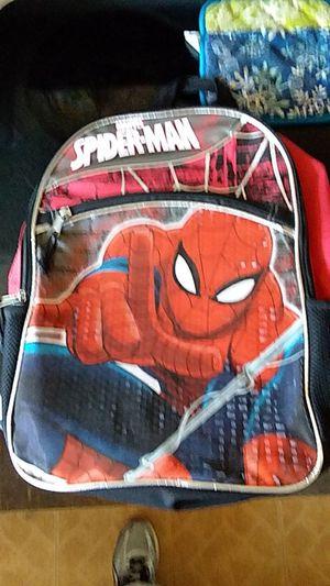 Spider man book bag