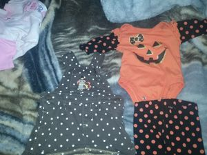 Newborn and 3 month outfits