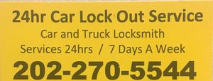 Car LockOut LockSmith $50