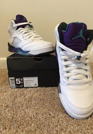 Jordan 5 Grape GS 5y
