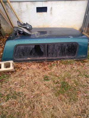 Cap truck bed