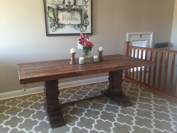 Reclaimed Dining Room Table Furniture in Seattle WA  : e3f93e38ec4e400da0c1410070ba5bf9 from offerup.com size 600 x 450 jpeg 37kB
