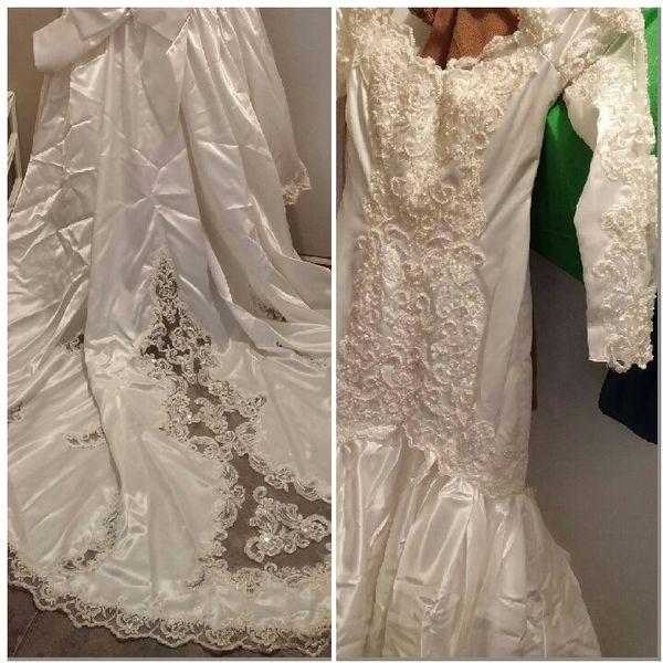 Vintage Wedding Dress Halloween Costume