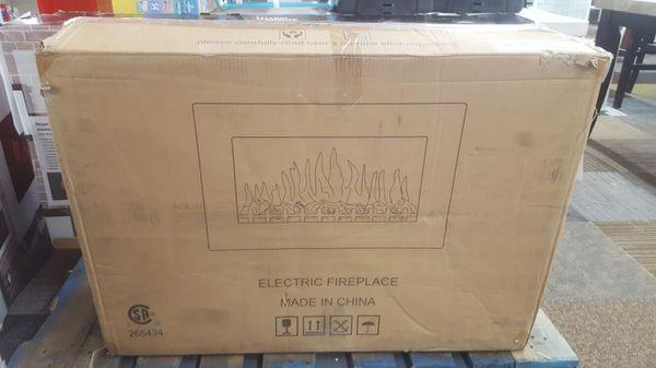 Meiropolitan wall mount electric fireplace ( Furniture ) in ...